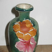 REDUCED Unmarked Hand Painted Japanese Satsuma Mini Vase