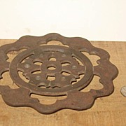 Cast Iron 3 Footed Trivet