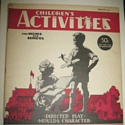 February 1941 Children's Activities For Home and School Magazine