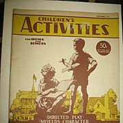 September 1941 Children's Activities For Home and School Magazine