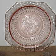 Pink Mayfair Open Rose Cereal Bowl.
