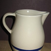 RRP Stoneware 1 Quart  Pitcher Williamsburg Pattern