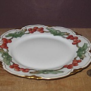 Hand Painted Peerless Bavaria Luncheon Plate