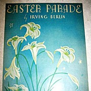 Easter Parade Sheet Music By Irvine Berlin