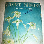 Easter Parade Sheet Music By Irving Berlin