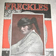 Freckles Sheet Music
