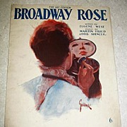Broadway Rose Sheet Music