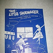 The Little Shoemaker Sheet Music.