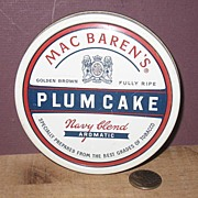 Mac Baren's Plum Cake Tobacco Tin