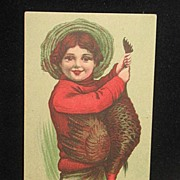 REDUCED Postmarked 1911 Thanksgiving Postcard