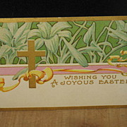 REDUCED Circa 1905 to 1915 Easter Post Card