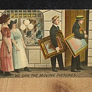 REDUCED Postmarked 1912 Humour Postcard