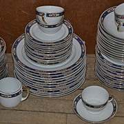 Czechoslovakian Partial Dinnerware Set