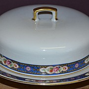 Czechoslovakian Covered Butter Dish
