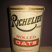 Richelieu Brand Rolled Oats Box