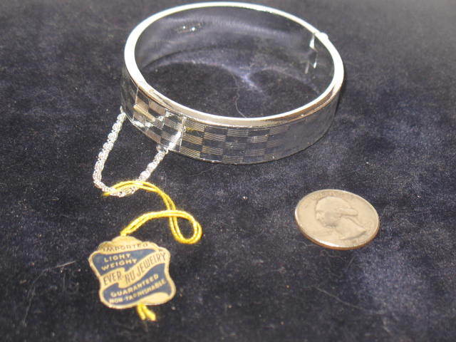 Marked Made in West Germany Ever-Nu- Jewelry Bracelet