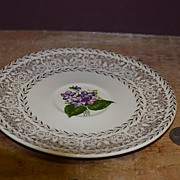 "SALE Unmarked Cunningham & Pickett ""Spring Violet"" Saucer Only"