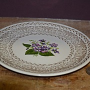 "SALE Unmarked Cunningham & Pickett ""Spring Violet"" Bread and Butter Plate"