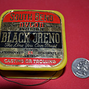 SALE South Bend Black Oreno Plastic Fishing Line.