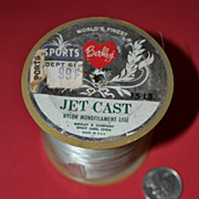 SALE Vintage Berkley Jet Cast Nylon Monofilament Fishing Line on Spool