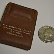E.F. Herrmann Agency Plastic Magenetized Money Clip
