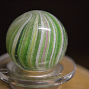 SALE 1800's German Hand Made Onionskin Marble