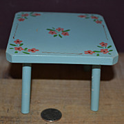 SALE Hand Painted Large Dollhouse Size Table