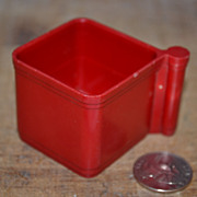 Hills Bros Red Plastic Styrene Dry Measure for 2 Cups Coffee