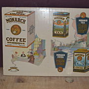 1920's Monarch Coffee, Tea, and Cocoa Ad Pages
