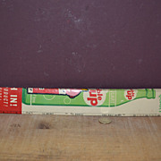 "16"" Bubble Up Ruler and Match Book by Coca-Cola"