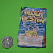 "Package of Vintage ""Block Buster"" Flashlight Firecrackers"