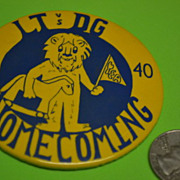 Lt vs DG 64 40 Homecoming Button