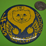 LTHS vs Glenbard Class of 1964 Class of 1939 Homecoming Button