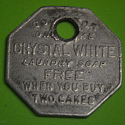 Palmolive Co. Crystal White Free Laundry Soap Token
