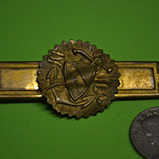 Ancient Order Unit Worker Brass Pin AOUW