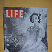 July 28 1947 Life Magazine with Princess Elizabeth on the Cover