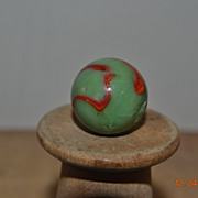 Peltier National Line Rainbo Shooter Flaming Dragon Marble