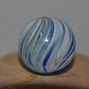 Hand Made German Blue and White Onion Skin Marble