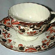 Unmarked Cup and Saucer