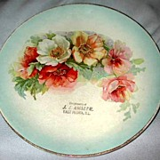 East Peoria, Illinois Advertising Plate
