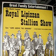 Royal Lipizzan Stallion Show Poster