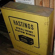 Hastings Steel Vent Piston Rings Cabinet