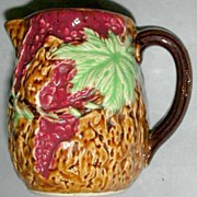 Japan Majolica Pitcher