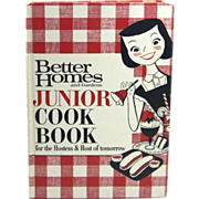 1963 Better Homes and Gardens Junior Cookbook