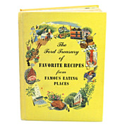 1950 Ford Treasury of Favorite Recipes from Famous Eating Places