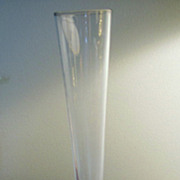 REDUCED VASE, Bud Vase, Lovely Paperweight Base