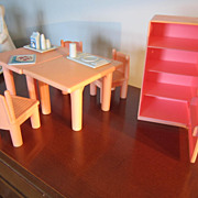 DOLL House Furniture, PlaySkool, Vintage