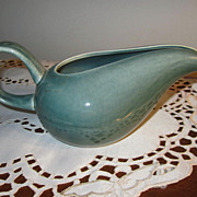 WRIGHT Pottery, Russel Wright, Vintage, Parsley Green, Creamer, WONDERFUL