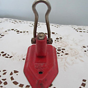 SOLD PUNCH, Hole Punch, Vintage, Cast Iron, Wilson - Red Tag Sale Item