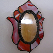 GLASS, Stained Glass Sun-catcher, Mirror, Hand Made
